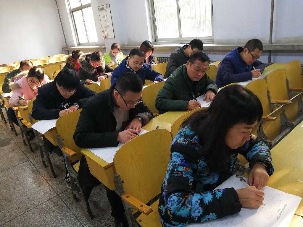 三职院电气工程学院党总支组织开展《中国共产党支部工作条例(试行)》知识测试
